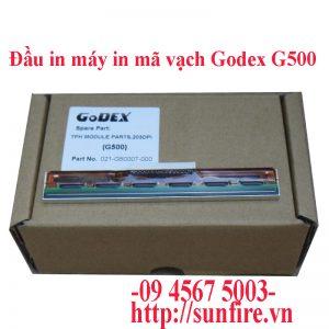 đầu in godex g500