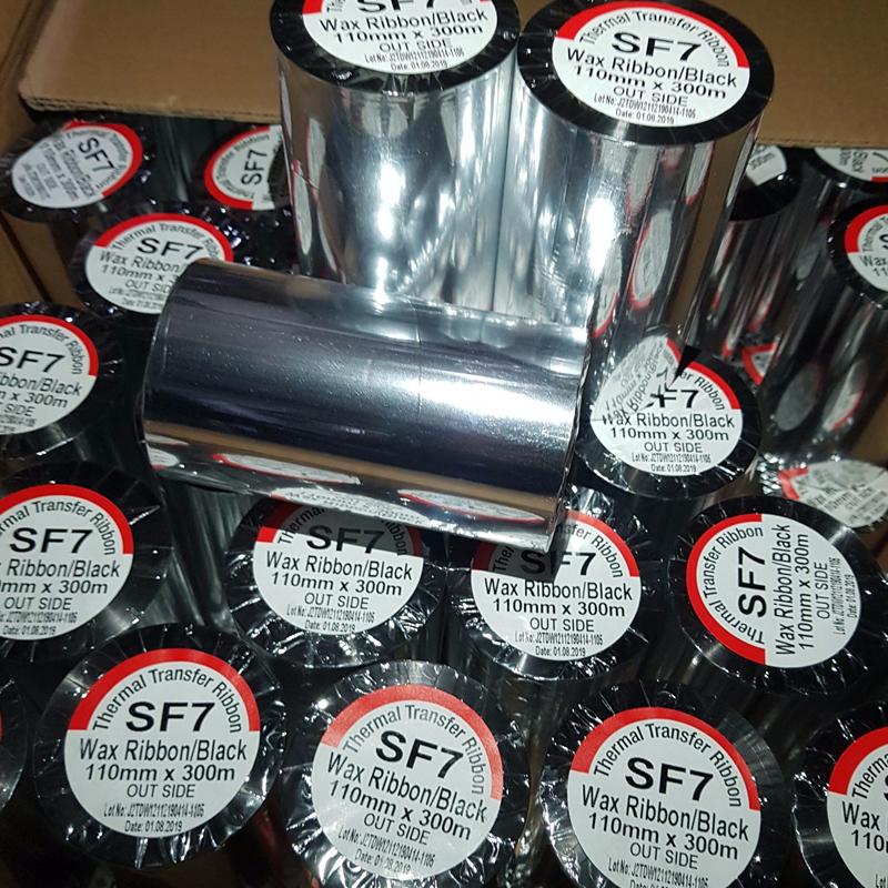 Mực in mã vạch premium wax sf7
