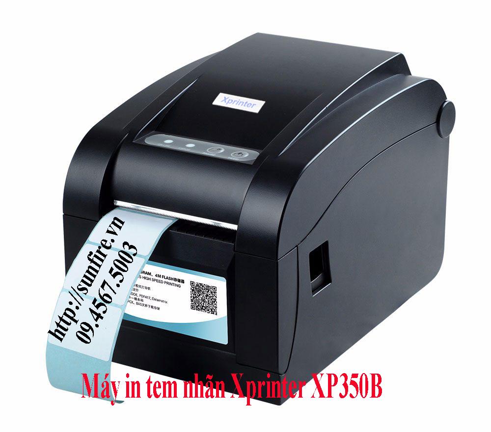 Máy in tem nhãn mã vạch Xprinter XP 350B