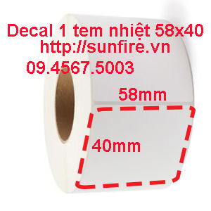 Decal nhiệt 58x40