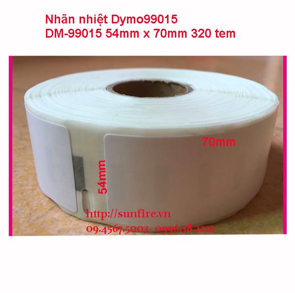 Nhãn dm99015 54x70mm