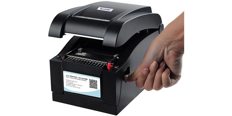 Máy in tem nhãn mã vạch xprinter xp350bm